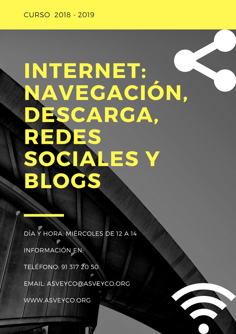 INTERNET: NAVEGACIÓN, DESCARGA, REDES SOCIALES Y BLOGS