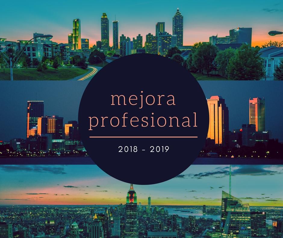 Programación de Cursos 2018 - 2019
