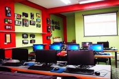 Aula de informática. Local de la Calle Pan y Toros nº 25