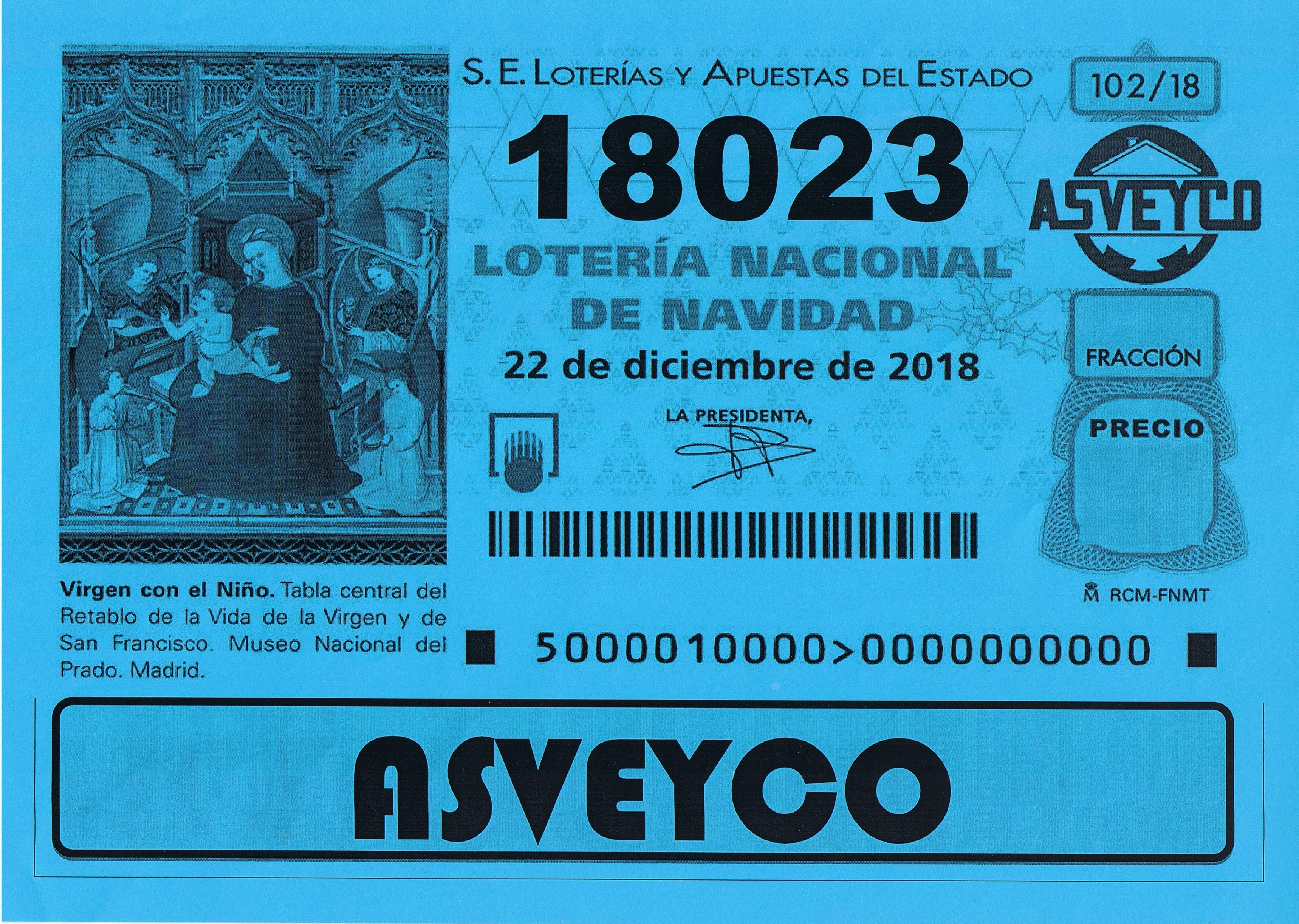 Lotería de Navidad de ASVEYCO