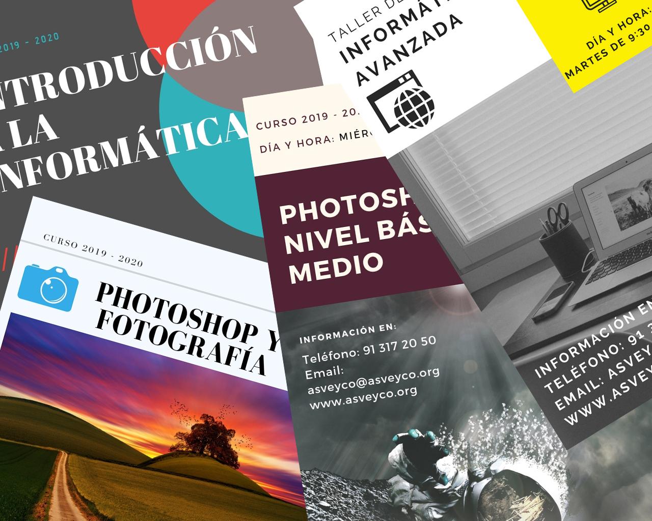 Cursos Informática y Photoshop ASVEYCO