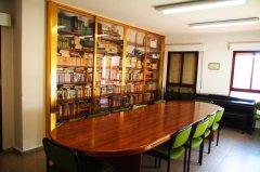 Detalle de la biblioteca. Local de la Calle Bohemios nº 13
