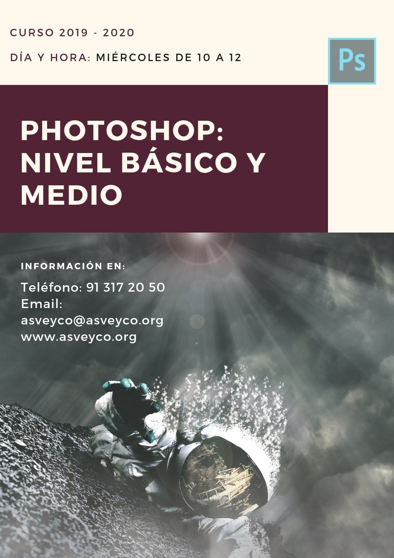 PHOTOSHOP: NIVEL BÁSICO Y MEDIO