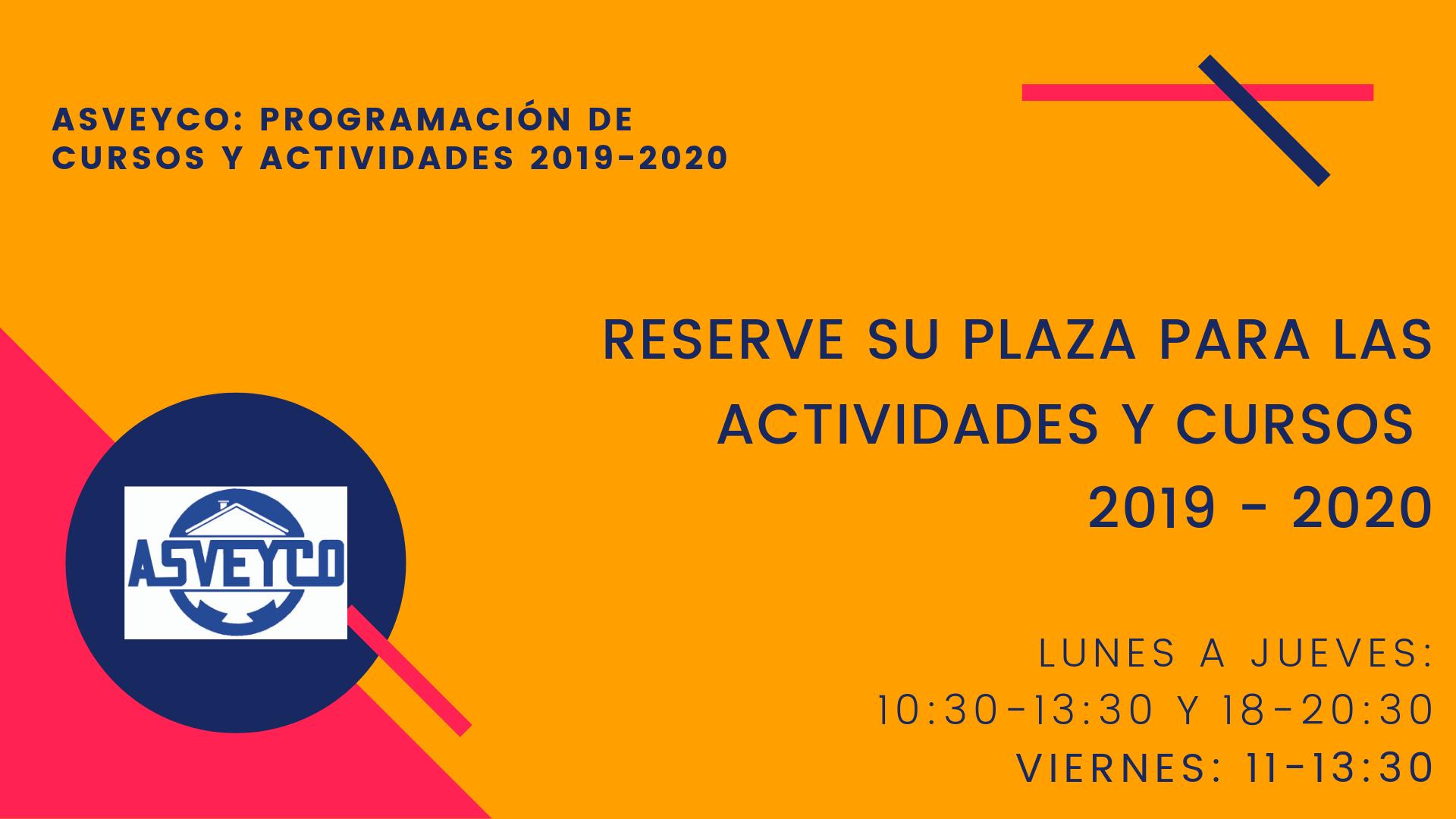 Cursos 2019 - 2020