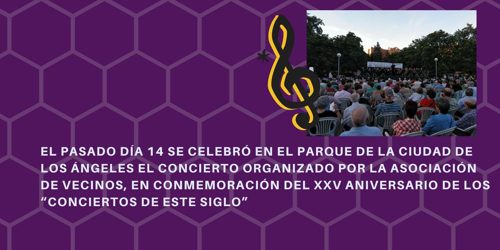 """XXV ANIVERSARIO DE LOS """"CONCIERTOS DE ESTE SIGLO"""""""