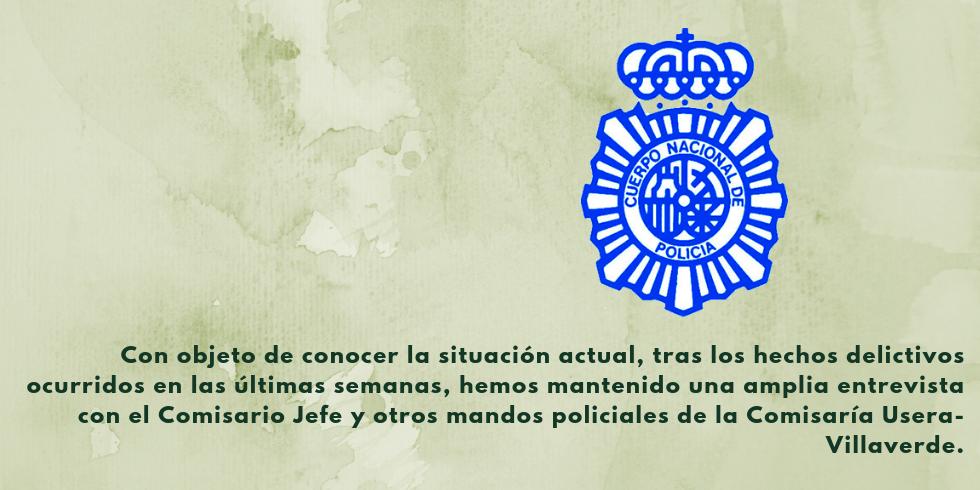NOS ENTREVISTAMOS CON LA POLICÍA NACIONAL